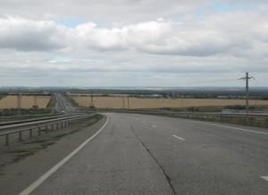Открыто движение на объездной автомобильной дороге вокруг Харькова