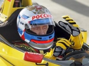 Болид Формулы-1 испытал премьер-министр России Владимир Путин