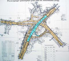5 ноября откроется развязка на Московской площади