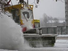 Снегоуборочные машины поработала на славу